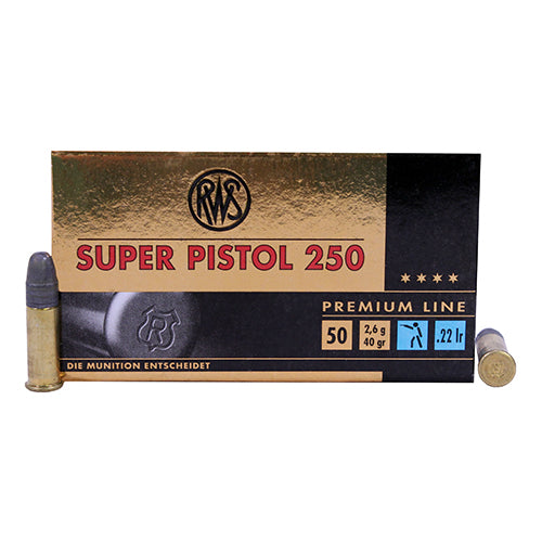 Walther .22 Long Rifle 40 Grains Lead Round Nose Per 50 - RTP Armor