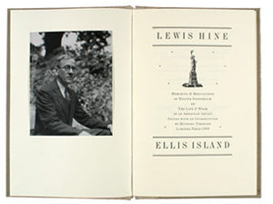 Lewis Hine: Ellis Island (LIMITED EDITION OF 200)