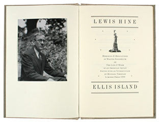 Lewis Hine: Ellis Island  (LIMITED EDITION)