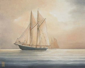 Heather Cooper: Bluenose II