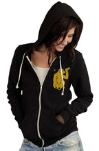 Unisex Zip Hoodie - Left Chest Print