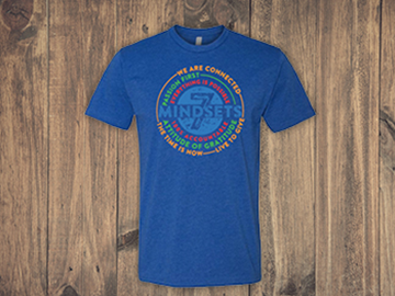7 Mindsets Royal Blue T Shirt
