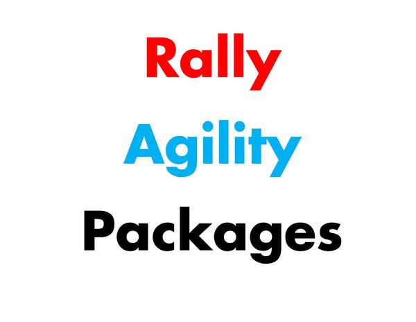 Agility & Rally packages