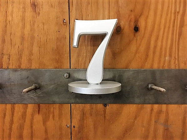 Custom PVC Table Numbers - QTY 20