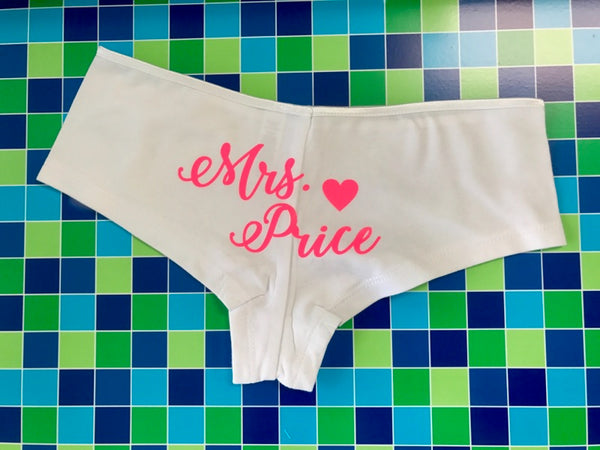 Bachelorette Panties