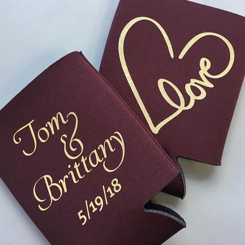 Custom Love Coozies [2-SIDED!]
