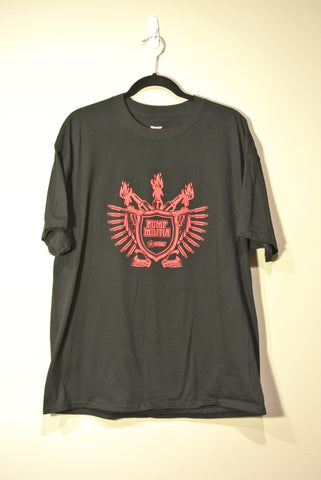 Classic Pump Militia T-Shirt Black w/ Red