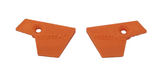 RENTAL - Orange Emek/Etha2 Eye Covers (10pair)