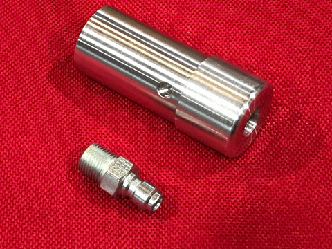 Hammer7 Straight - Center NPT with QD - RAW