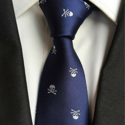 Custom Made Skull Tie-50% Off Today