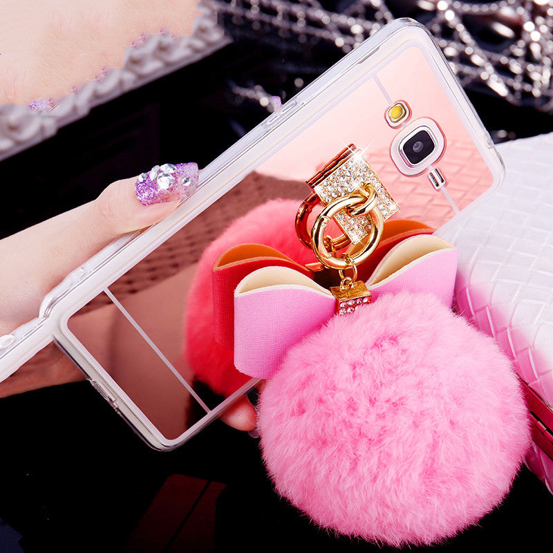 Rabbit Fur Ball Samsung Phone Case