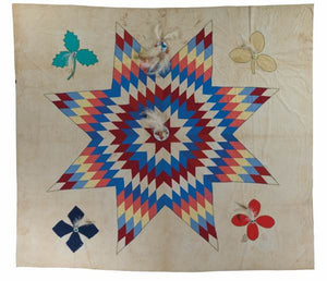 The Morning Star Quilt: The Brightest Star of the Dawning Day