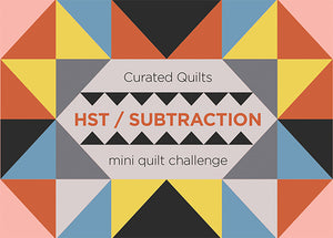 Half-Square Triangle Mini Quilt Challenge - Call for Entries