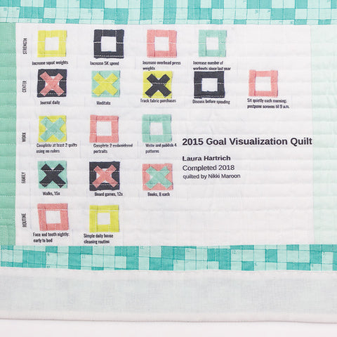 Curated Quilts: Labels in the Half-Square Triangle Issue