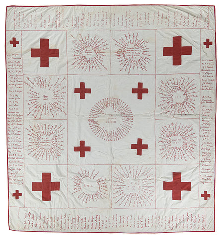 Red Cross Quilts to the Rescue by Teresa Duryea Wong
