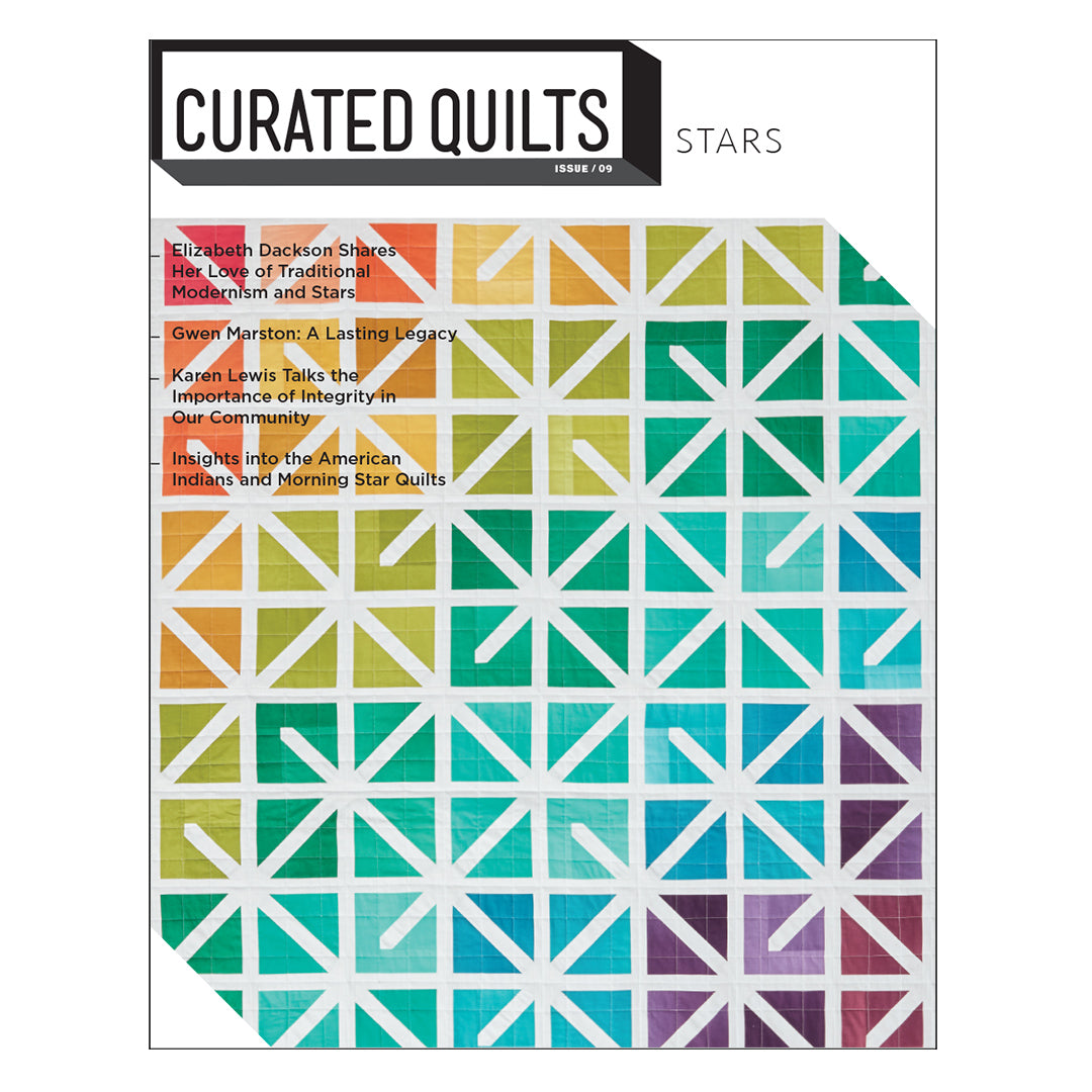 Curated Quilts - Star Issue coming October 1!