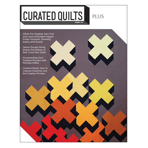 Curated Quilts - Plus #14, January 2021
