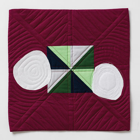 Charlie's Quilt Pattern by Jessica Plunkett and Charlie Plunkett (age 4), @maeberrysquare