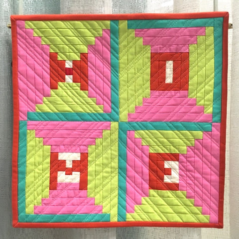 Home is Where the Quilt Is by Nicole Kaplan @patchworkduck