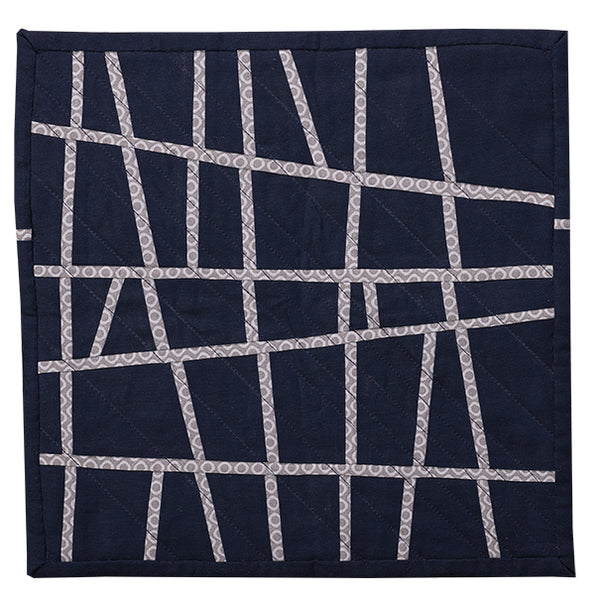 Disconnect by Suzanne McManus for Curated Quilts Mini Quilt Challenge