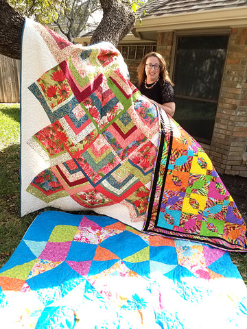 Stay Home and Quilt by Lindsay Conner