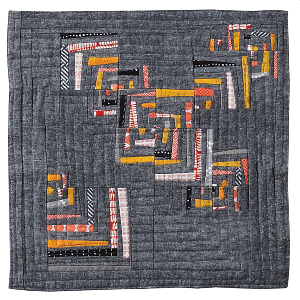 Crow Catcher by Bridget Jane Vian for Curated Quilts Mini Quilt Challenge