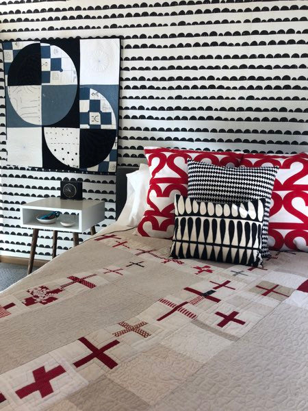Jacquie Gering - Making a House a Home article for Curated Quilts