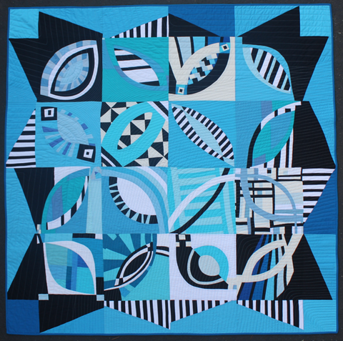 Rings by Debbie Jeske & The BeeSewcial Quilt Group