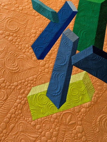 Tumbling Down by Claire Victor @cvquilts