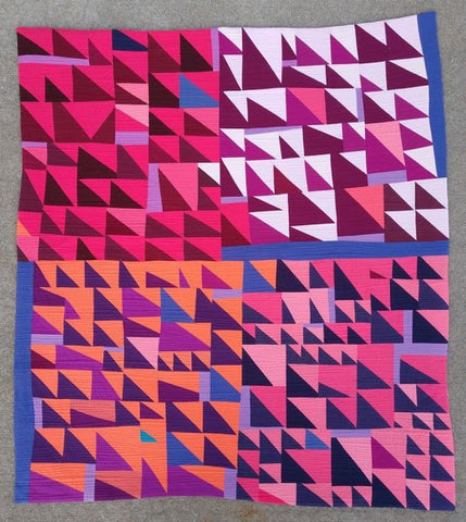 Jagged by Jill Fisher @pieladyquilts