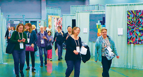 QuiltCon 2020 - photo by Curated Quilts