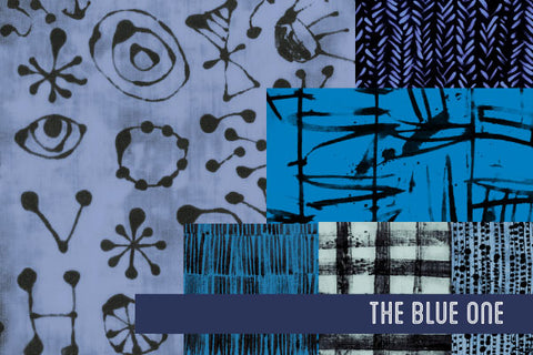 The Blue One by Marcia Derse for Windham Fabrics
