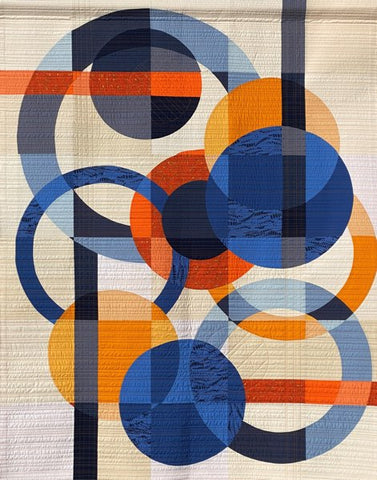 Moving in the Best Circles by Barbara Cain & the Pittsburgh Modern Quilt Guild