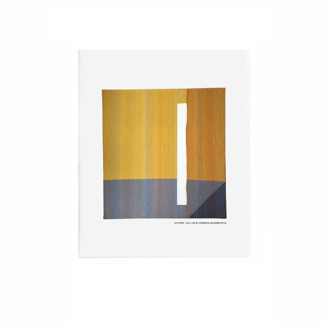 Clyfford - Still Life - Art Print