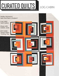 DIGITAL Log Cabin - Issue 2-Curated Quilts