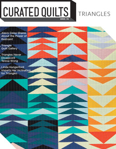 Triangles - Issue 4-Curated Quilts