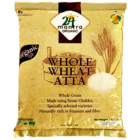 24 Mantra organic whole wheat atta premium