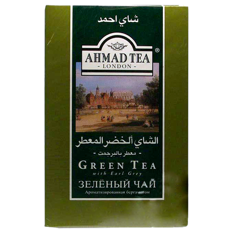 Ahmad Tea London Green Tea with Earl Grey