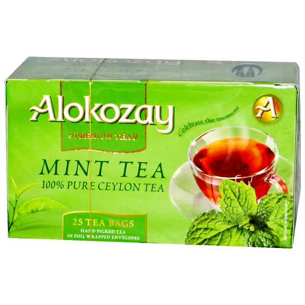 Alokozay Mint Tea 100% Pure Ceylon Tea