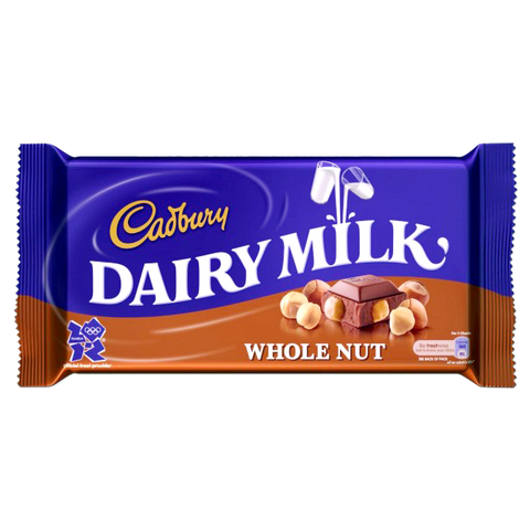 Dairy Milk Whole Nut Chocolate