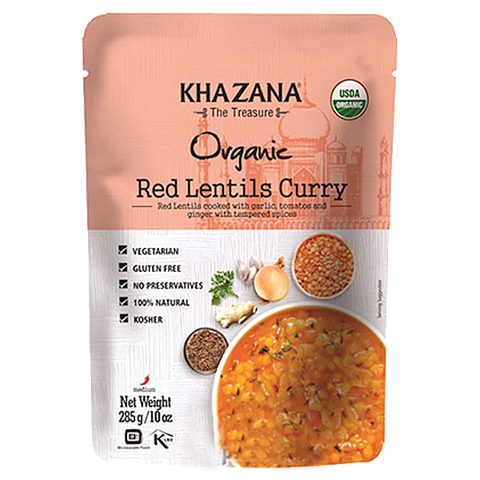 Red Lentils Curry (Ready-to-Eat)