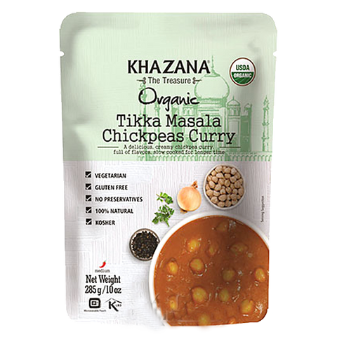 Tikka Masala Chickpeas Curry (Ready-to-Eat)