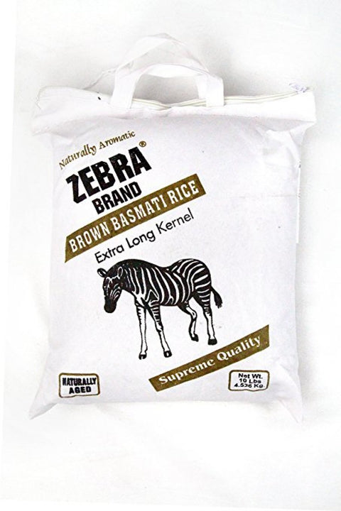 Zebra Brown Basmati Rice