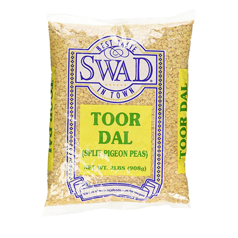 Swad Toor Dal Oily