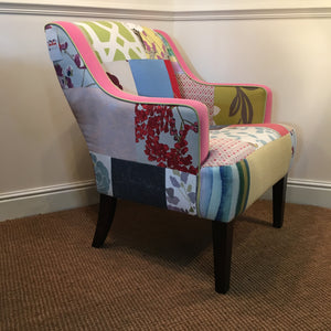 patchwork chair long eaton