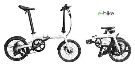 Introducing the Foldie One - a lightweight, ultra-portable folding e-bike that will take you anywhere