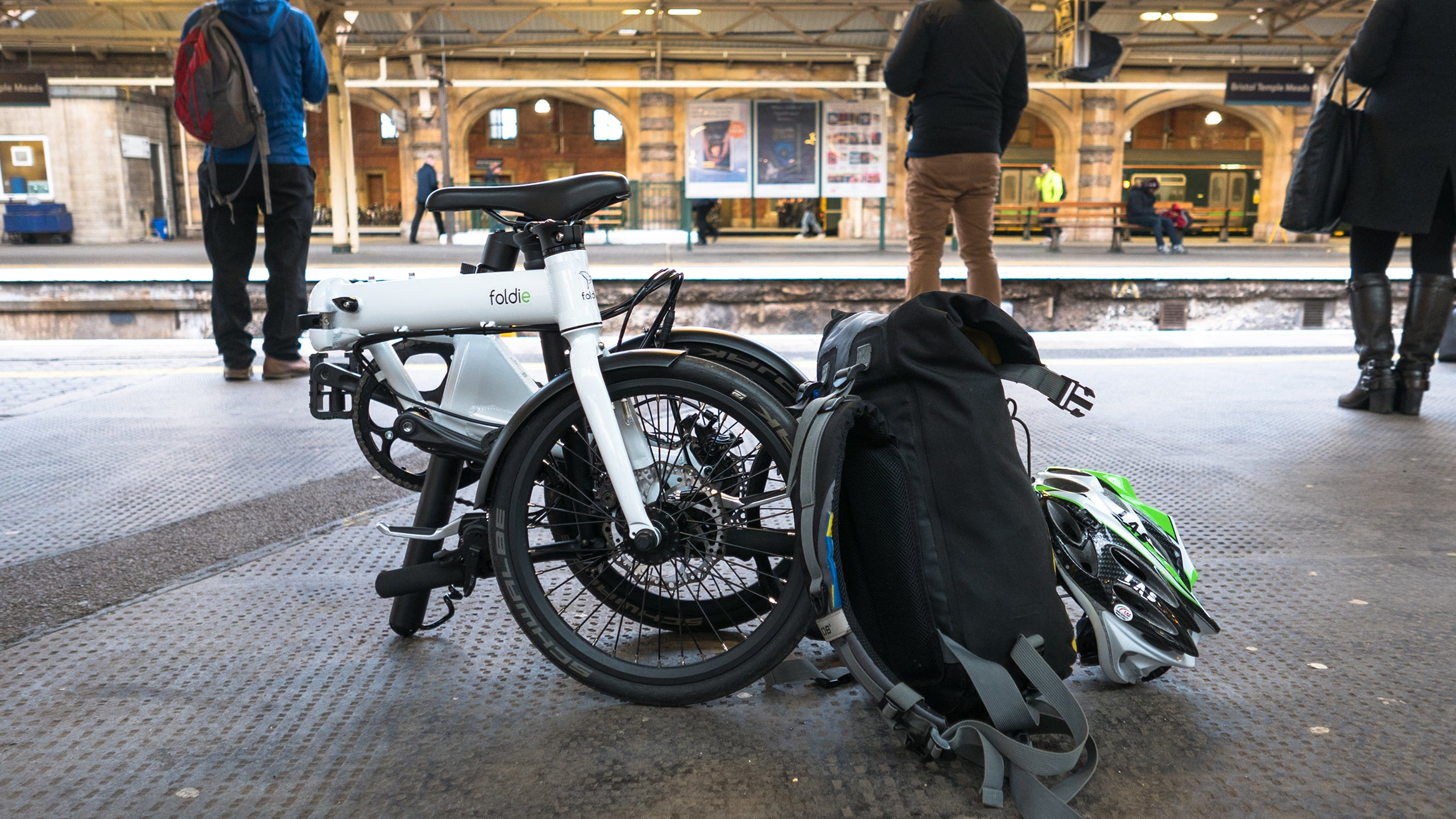 Folding E-Bike Take Anywhere