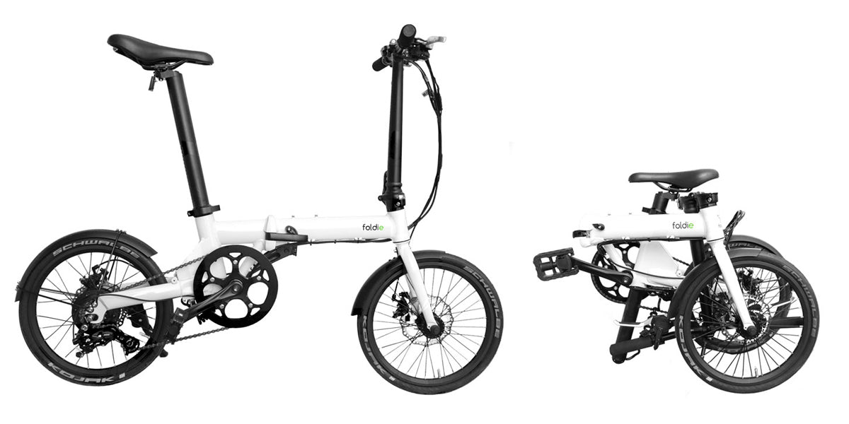 Foldie eBike Side View