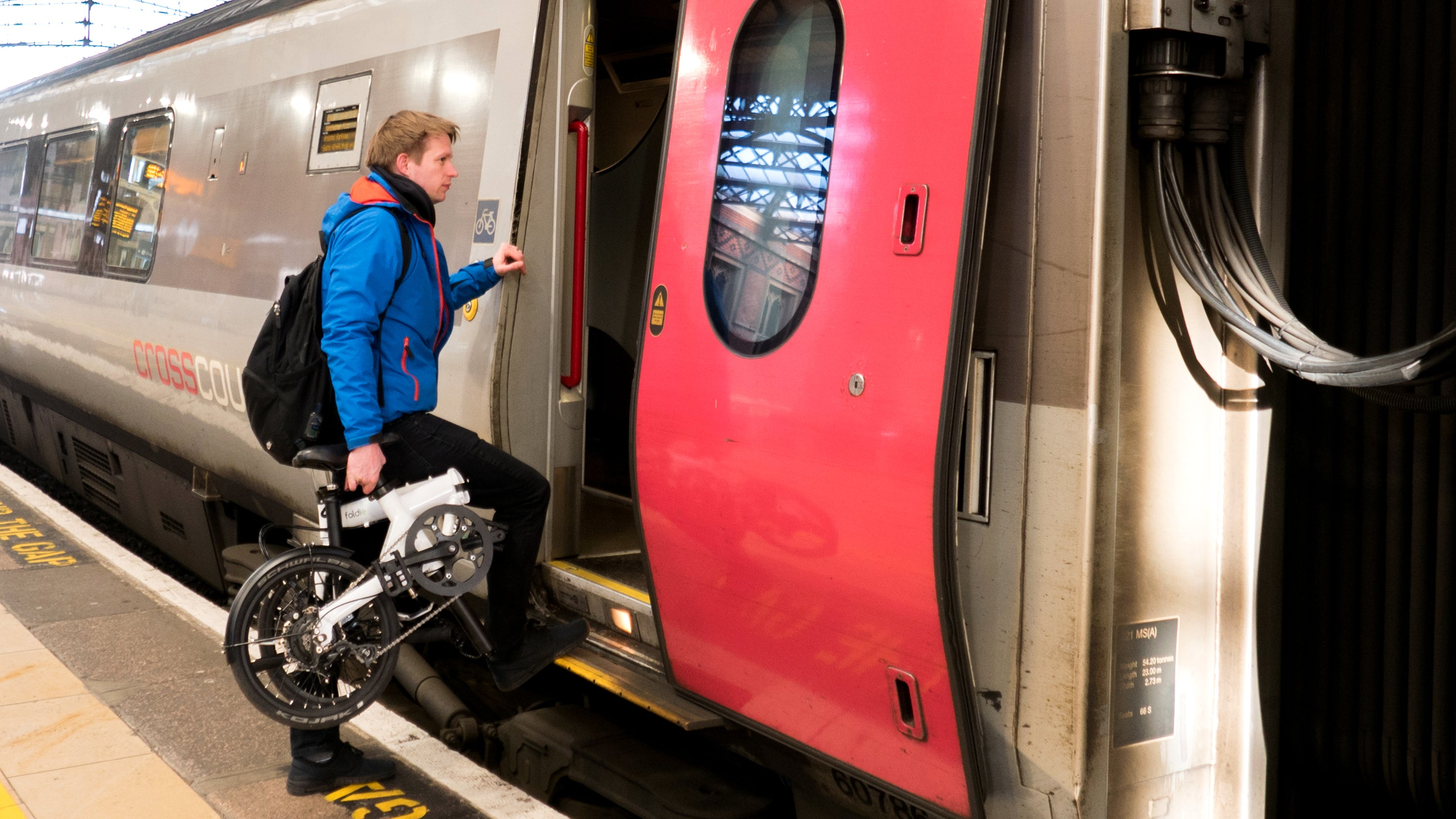 An E-bike that you can take on the train