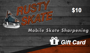 Skate Sharpening Gift Card - We Come To You